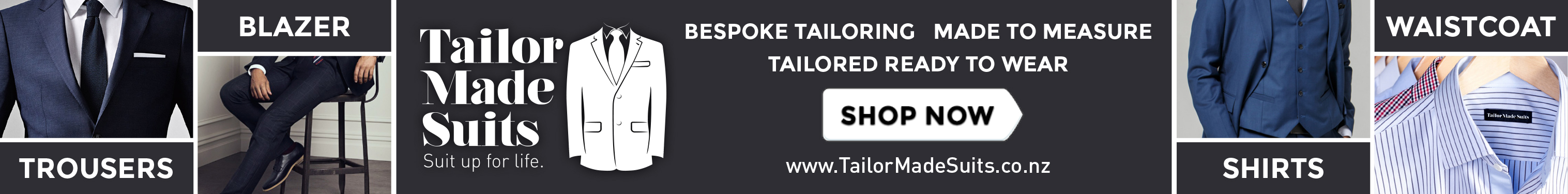 Tailor Made Suit Advertising